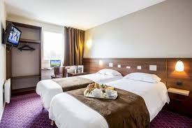 chambre rennes chambre à lits jumeaux photo de brit hotel rennes le castel
