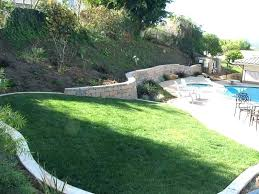Slope Landscaping Ideas For Backyards Sloped Yard Ideas Sloping Backyard Sloped Yard Patio Ideas