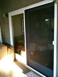 Screen Door Patio Patio Sliding Back Door Door With Blinds Built In Center Hinged