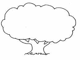 how to draw a tree in easy steps youtube