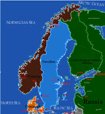 Scandinavia Map Map Of Scandinavia 1914 By Aleksx000 On Deviantart