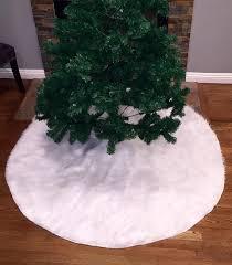 faux fur tree skirt faux fur christmas tree skirt white faux fur tree skirt fur