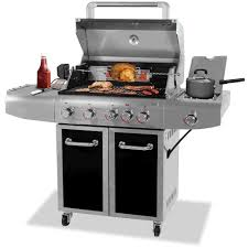 Backyard Grill 5 Burner Gas Grill Reviews Charcoal And Gas Outdoor Barbecue Grills Patio Lane
