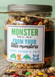 Thanksgiving Trail Mix Monster Trail Mix Father U0027s Day Gift