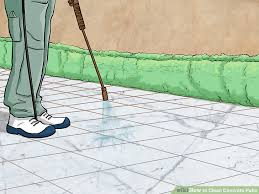 How To Clean Colored Concrete Patio 3 Ways To Clean Concrete Patio Wikihow
