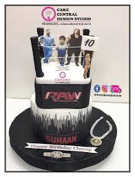 wwe wrestling birthday cake delhi sports cake delhi online