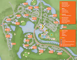 Map Of Disneyworld New Look 2013 Resort Hotel Maps Photo 19 Of 37