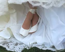 chaussures plates mariage chaussures de mariage etsy fr robe chaussures de