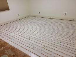 Painted Laminate Flooring Diy Painted Plywood Floors Heady Grimm