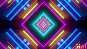 vj neon lights by blujewelstudios videohive