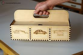 Instructions On How To Make A Toy Chest by Tutorial Laser Cutting Techniques And Projects Make