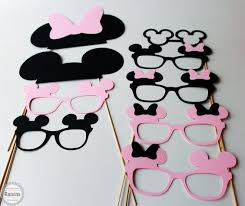 Mickey Mouse Photo Booth Minnie Mouse Photo Booth Props Mickey Mouse Photo Booth Props