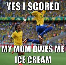 Funny Memes Soccer - haha we owe our kid 20 a goal he makes a good hourly rate lol