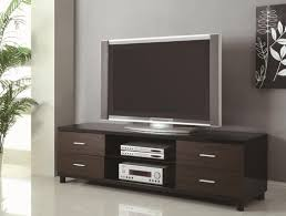 Tv Tables Wood Modern Black Wood Tv Stand Steal A Sofa Furniture Outlet Los Angeles Ca