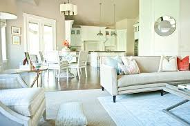 Tips For Decorating An Open Floor Plan How To Decorate - Floor plans for open plan kitchen family room