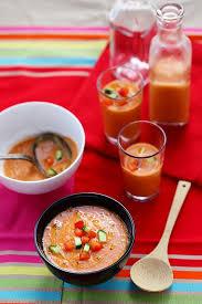 recette cuisine gaspacho espagnol gaspacho andalou un déjeuner de soleil