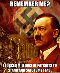 Hitler Meme Generator - remember me i forced millions of patriots to stand and salute my