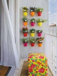 balcony decor interiors inspiration india colorful planters for
