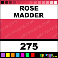 rose madder artists watercolor paints 275 rose madder paint
