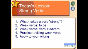 action verbs for resumes and cover letters using strong verbs in writing youtube