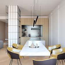 how to arrange a trendy minimalist home design with modern and tremdy minimalist home design ideas slava balbek artem zavarzin minimalist dining and kitchen