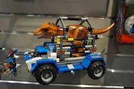jurassic world vehicles lego jurassic world at toy fair 2015 the toyark news