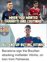 Barca Memes - standard chartered when you wanted ueraatti and coutinho ku