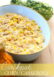 crockpot corn casserole recipe thanksgiving prep tips