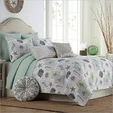 Starfish Comforter Set Lelva Ocean Bedding Set Seashells Beach Theme Patchwork Quilt Set