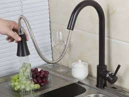 Bridge Kitchen Faucet With Side Spray by Sink U0026 Faucet Gold Brushed Brass Pull Down Single Hole Kitchen