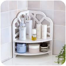 Bathroom Shelving And Storage Wooden 2 Tier Wall Shelf Shower Shelf Shoo Holder Bathroom