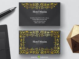 Luxury Business Cards Download Free Luxury Business Card Templates Freebcard Com