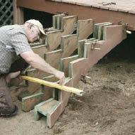put a little arc in your stairs professional deck builder