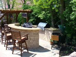 bar manificent design outdoor bar ideas exciting outdoor kitchen