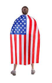 Design Of American Flag Amazon Com Stars U0026 Stripes Cape Usa Flag Design For Adults