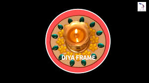 diy diya frame simple diwali diyas diyas decoration youtube
