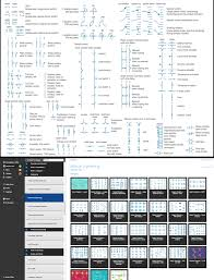 component electrical drawing symbols visio electricity iso image4
