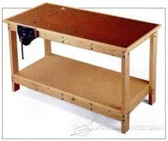 Woodworking Bench Plans Patterns by 25 Best Garage Workbench Plans Ideas On Pinterest Wood Work