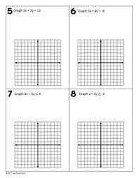 graphing linear inequalities algebra 1 skills practice by lisa