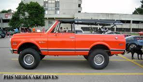 1972 chevrolet blazer k20 phscollectorcarworld