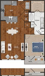 one bedroom floor plans a8 one bedroom floor plan for alexan 5151