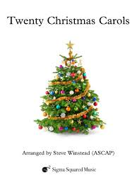twenty christmas carols for clarinet quartet choir u2013 sigma squared