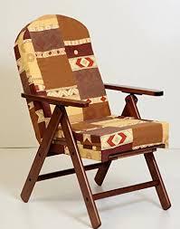 sedia sdraio giardino poltrona sedia sdraio amalfi in legno reclinabile 4 posizioni