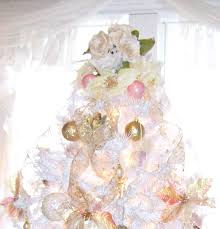 olivia u0027s romantic home shabby chic white christmas tree
