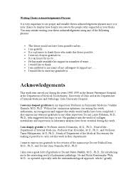 Resume Phrases To Use Writing Thesis Acknowledgements Phrases Teachers Data Analysis