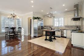 31 custom white kitchens with wood islands