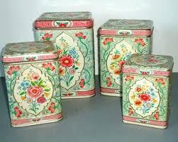 vintage kitchen canister set vintage kitchen canisters metal canister set vintage blue turquoise