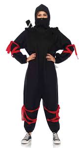 Halloween Onesie Costumes Kigarumi Onesie Costume Ninja Onesie Ninja Costume