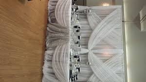 black and white wedding set the mood decor