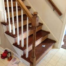 Stripping Paint From Wood Banisters Should I Paint Or Stain The Newel Post On My Steps Hometalk